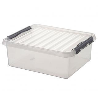 Aufbewahrungsbox, 25 Liter, LxBxH 500 x 400 x 180 mm (55684)