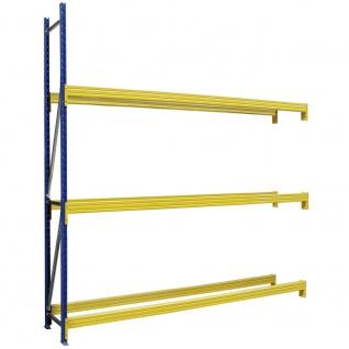 Anbauregal für Reifenregal, BxTXH 2780 x 400 x 2500 mm, Fachbreite 2700 mm