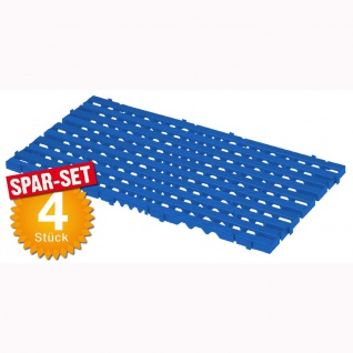Bodenrost, blau, LxBxH 800 x 400 x 25 mm, VE = 4 Stück