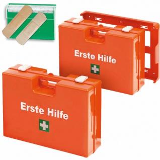 Erste-Hilfe Set, 2x Erste-Hilfe-Koffer Inhalt nach DIN13157 u. 1 Pflasterspender