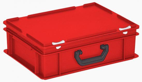 Kunststoffkoffer Mehrzweckkoffer Transportkoffer Eurokoffer Stapelbehälter 22984 - Vorschau