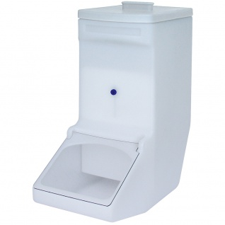 Vorratsbehälter / Zutatenspender, 61 Liter, LxBxH 615 x 280 x 675 mm, Farbe weiß