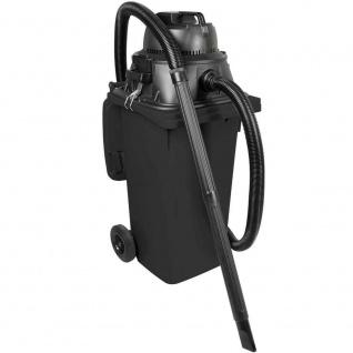 Nass- / Trockensauger / Industriesauger 1100 Watt, mit 120 Liter DIN Tonne grau