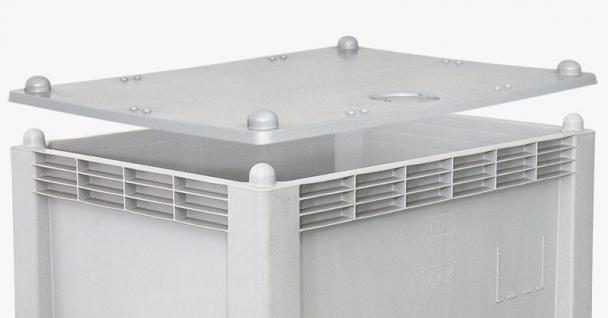 Stapeldeckel für Volumenbox Deckel Staubschutz