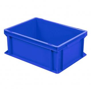 Eurobehälter mit 2 Griffleisten, LxBxH 400 x 300 x 170 mm, blau