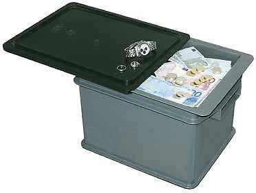 Safebehälter Schiebedeckelbehälter Transportbehälter Sicherheitsbehälter - Vorschau 1