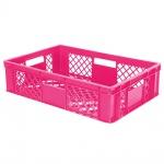 Stapelbehälter / Eurobehälter mit 4 Durchfassgriffen, LxBxH 600 x 400 x 150 mm, violett