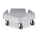 Aluminium-Tonnenroller, Außen-Ø 512 mm, Tragkraft 250 kg