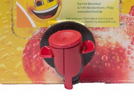 Weirouge Apfelsaft vom Bleichhof, 100% Direktsaft ohne Zusätze, Bag-in-Box Zapfsystem(5LSaftbox) vegan - Vorschau 2
