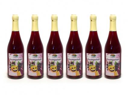 Fruchtperlsaft vom Bleichhof (6x 0, 75l) - Vorschau 1