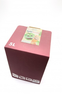 Apfel-Karotten-Saft Bleichhof, 100% Direktsaft ohne Zusätze - Bag-in-Box Verpackung (5L Saftbox) vegan