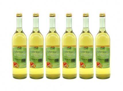 Apfel-Ingwer-Saft vom Bleichhof (6x 0, 72L) vegan - Vorschau 1