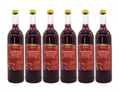 Cranberrysaft vom Bleichhof (6 x 0, 72 l) vegan