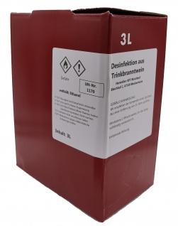 Bleichhof Desinfektion aus Trinkbranntwein 3L zum Nachfüllen (1x3L Bag in Box)