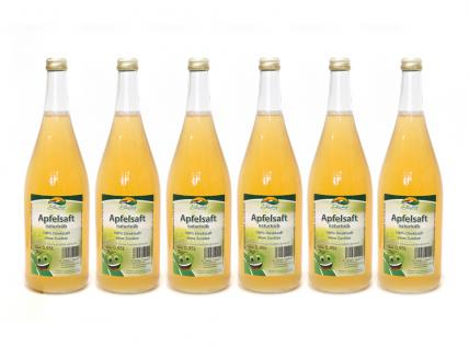 Apfelsaft naturtrüb vom Bleichhof (6x 0, 95L) vegan - Vorschau 1