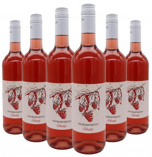 Bleichhof Himbeersecco, 6er Pack (6x 0, 75l) 10% vol.