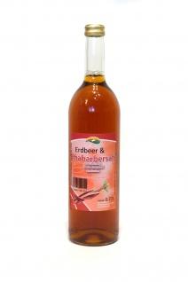Erdbeer-Rhabarber-Saft vom Bleichhof (6x 0, 72L) vegan - Vorschau 2