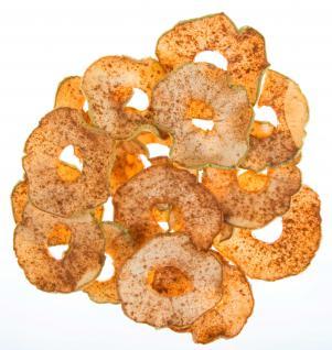 Apfelchips Zimt vom Bleichhof (10x 90g) vegan - Vorschau 3