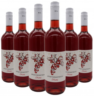 Bleichhof Johannisbeersecco (rot), 6er Pack (6x 0, 75l) 10, 0% vol.