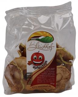 Bleichhof Apfelchips Zimt, vegan, 10er Pack (10x 90g)