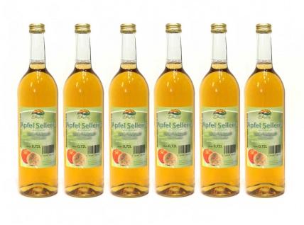 Apfel-Sellerie-Direktsaft vom Bleichhof (6x 0, 72L) vegan - Vorschau 1