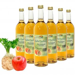 Bleichhof Apfelsaft mit Selleriesaft - 100% Direktsaft, OHNE Zuckerzusatz (6x 0, 72l)