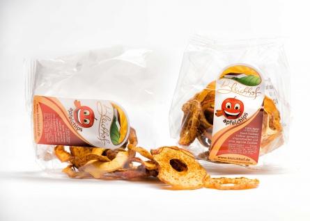 Apfelchips Zimt vom Bleichhof (10x 90g) vegan - Vorschau 2