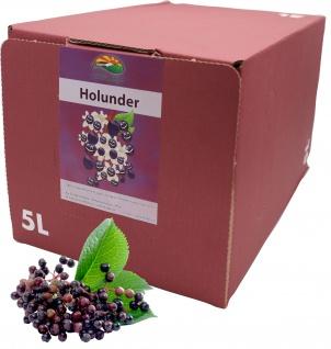 Bleichho Holundersaft- 100% Direktsaft, Bag-in-Box mit Zapfsystem (5l Saftbox)