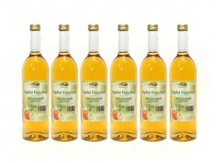 Apfel Fenchel Saft vom Bleichhof (6x 0, 72L) vegan - Vorschau 1