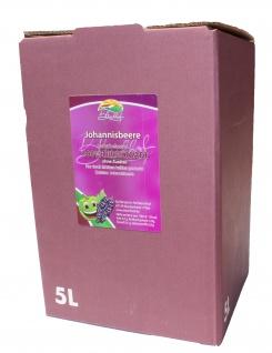 schwarzer Johannisbeersaft Bleichhof, 100% Direktsaft ohne Zusätze - Bag-in-Box Verpackung (5L Saftbox) vegan - Vorschau
