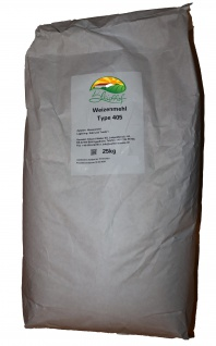 Bleichhof Premium-Mehl - Weizenmehl des Typs 405 - Pfälzer vom Bleichhof 25kg (5x5kg)