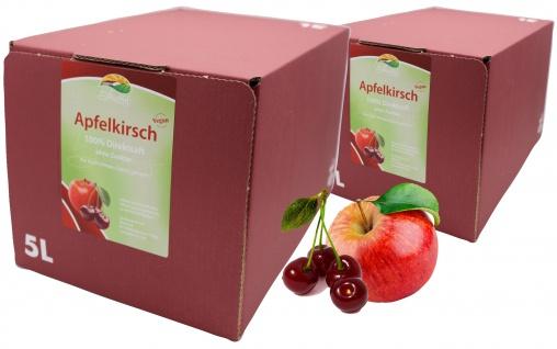 Bleichhof Apfel-Kirsch Direktsaft - 100% Direktsaft (2x 5l Bag-in-Box)
