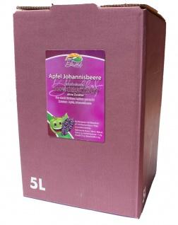 Apfeljohannisbeersaft Bleichhof, 100%Direktsaft ohne Zusätze Bag-in-Box Verpackung (5LSaftbox) vegan - Vorschau 1