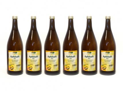 Apfelsaft klar vom Bleichhof (6x 0, 95L) vegan - Vorschau 1