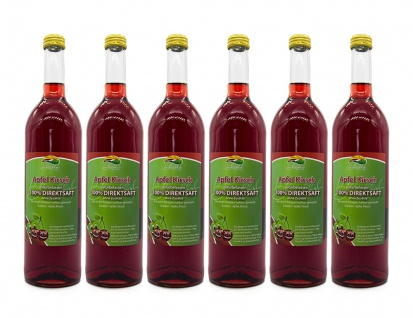 Apfel-Kirschsaft vom Bleichhof (6x 0, 72L) vegan