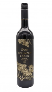 Bleichhof Holunder-Essig 0, 75l (1x 0, 75l) | 5% Säure, naturvergoren | vegan