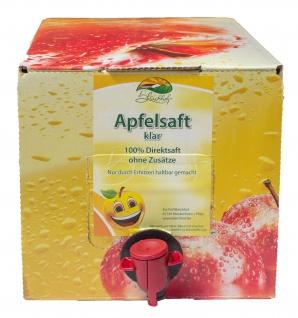 Apfelsaft klar vom Bleichhof, 100% Direktsaft ohne Zusätze, Bag-in-Box Zapfsystem (2x 5L Saftbox) vegan - Vorschau 2