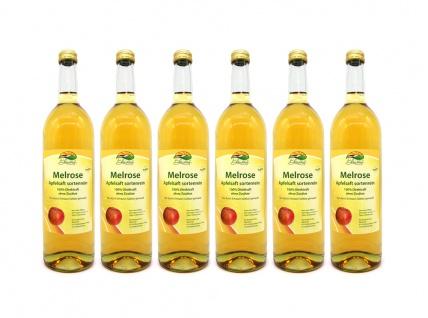 Apfelsaft Melrose vom Bleichhof, sortenrein (6x 0, 72L) vegan