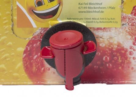 Apfelsaft klar vom Bleichhof, 100% Direktsaft ohne Zusätze, Bag-in-Box Zapfsystem (5L Saftbox) vegan - Vorschau 3