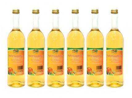 Apfel-Sanddorn-Direktsaft vom Bleichhof (6x 0, 72L) vegan - Vorschau 1