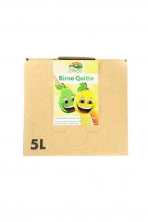 Birne-Quitten-Saft vom Bleichhof, 100%Direktsaft ohne Zusätze Bag-in-Box mit Zapfsystem(5LSaftbox) vegan