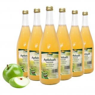 Bleichhof Apfelsaft naturtrüb - 100% Direktsaft, OHNE Zuckerzusatz (6x 0, 95l)