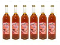 Erdbeer-Rhabarber-Saft vom Bleichhof (6x 0, 72L)