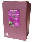 Apfeljohannisbeersaft vom Bleichhof, 100% Direktsaft ohne Zusätze Bag-in-Box Verpackung (5L Saftbox)