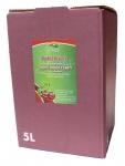 Apfelkirschsaft vom Bleichhof, 100%Direktsaft ohne Zusätze, Bag-in-Box Verpackung (1x5L Saftbox) vegan