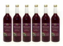Apfel-Holunder-Direktsaft vom Bleichhof (6x 0, 72L) vegan