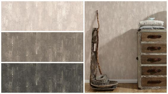 Vlies Tapete Stein Wand Beton Optik struktur creme beige braun anthrazit schwarz