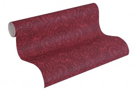 Vliestapete Boho Henna Ornament rot bordeaux weinrot Boho Love 36458-4