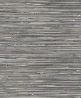 Vlies Tapete Japan Gras Sisal Optik Natur Optik Tapete SR210305 grau silber