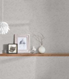 Vlies Tapete Spachtel Optik Beton Stein kiesel grau beige Concrete 37835-1